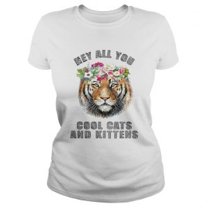 Joe Exotic Tiger Hey All You Cool Cats And Kittens  Classic Ladies