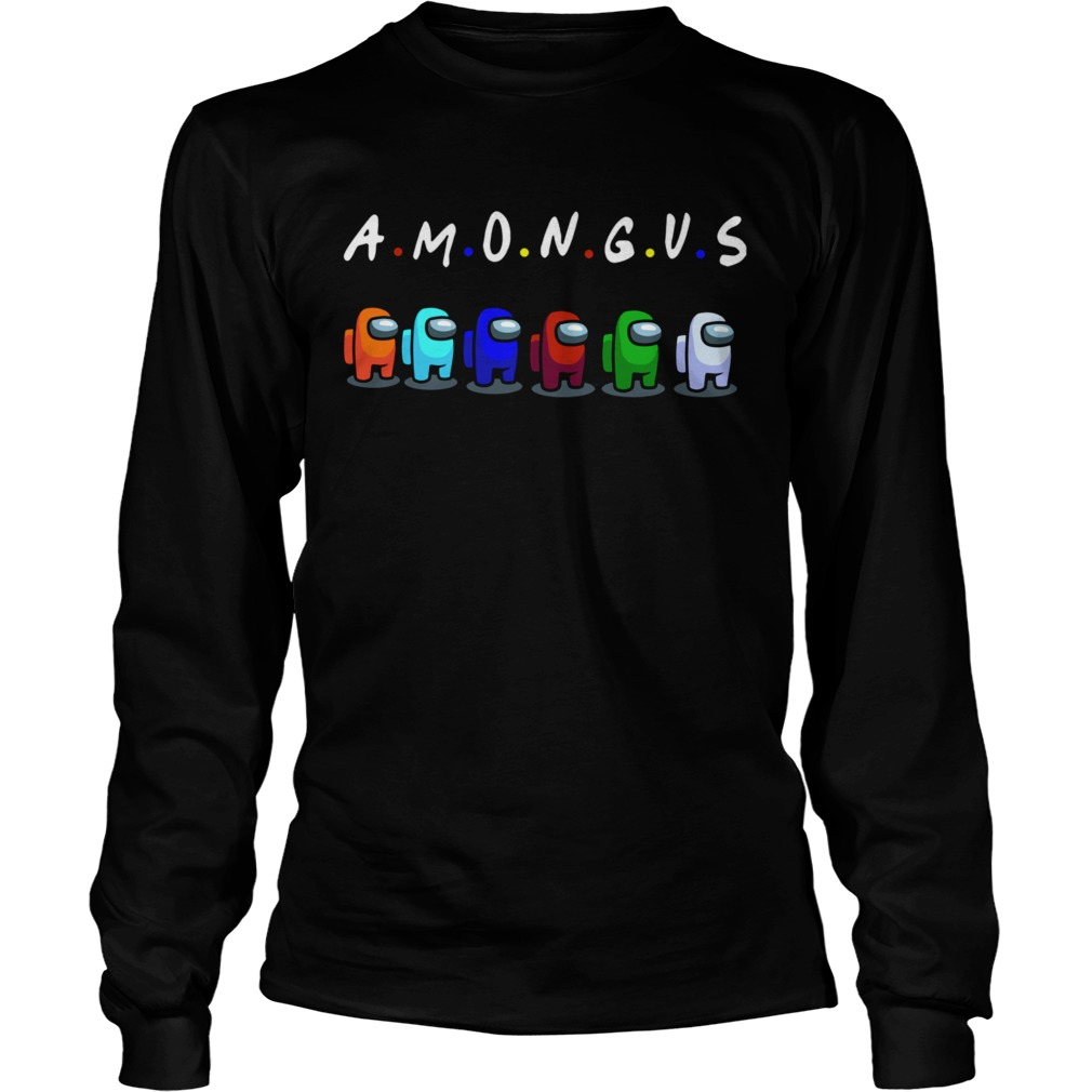 Among Us With Friends Style  Long Sleeve