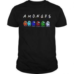 Among Us With Friends Style shirt